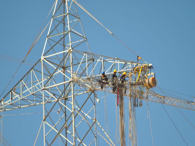ITO atravieso de línea 2×500 kV. sobre línea 2×220 kV. Minera Zaldivar